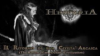 HESPERIA-Il Ritorno di una Civiltà Arcaica