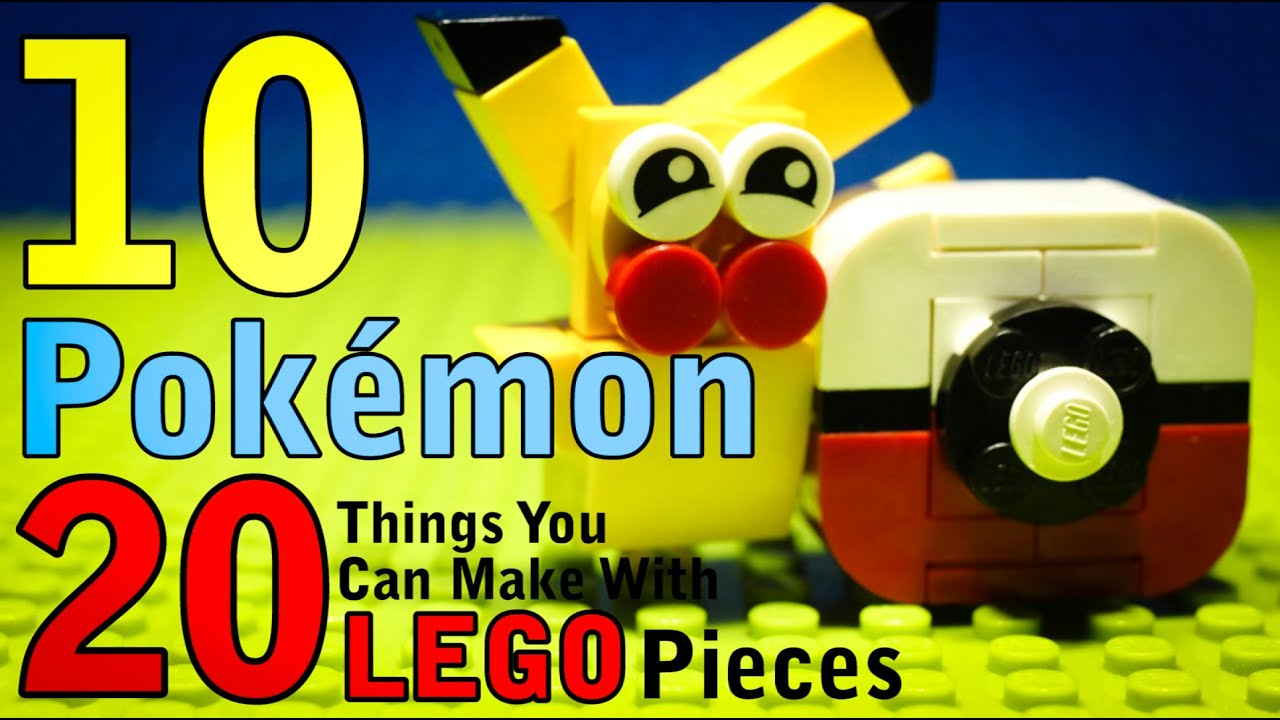 Download 10 Pokemon things You Can Make With 20 Lego Pieces