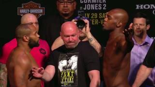 UFC 214: Daniel Cormier vs Jon Jones Weigh-in Face-off