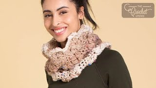 Crochet Textured Cowl