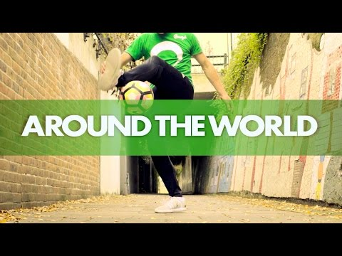 LEARN THE AROUND THE WORLD' FOOTBALL TRICK! TUTORIAL!!!