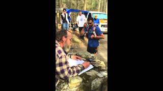 Jared Campbell's  2014 Barkley Marathons Finish