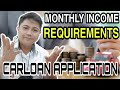 Gambar cover Monthly Income Requirements for Carloan Application | Accepting Transfer Approval #AgentColsenVlog