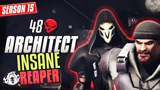 INSANE Reaper Plays by ARCHITECT 48 ELIMS [S15 TOP 500]