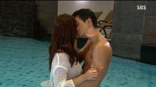김지훈·남상미, 수영장서 달달한 키스 @결혼의 여신 11회