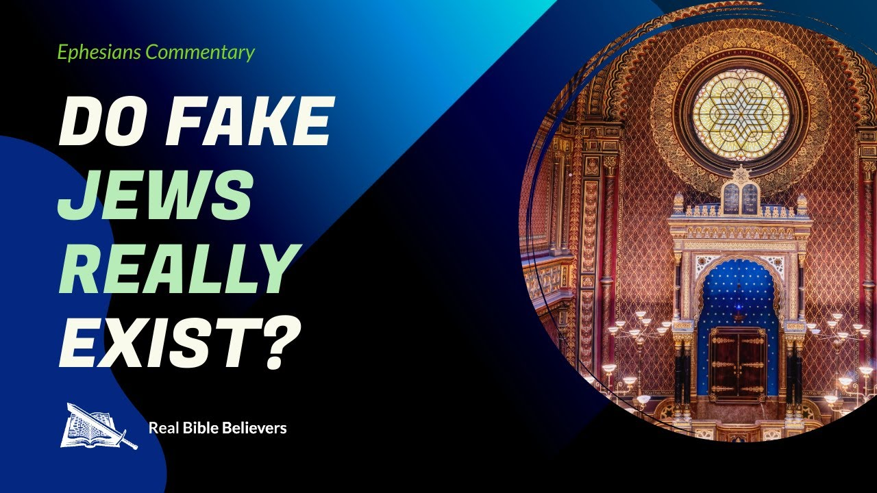 Do FAKE Jews REALLY Exist? (Eph. 2:11-16)   Dr. Gene Kim