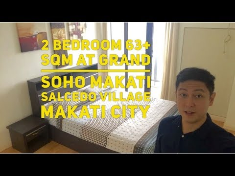 2 Bedroom 63+ sqm at Grand Soho Makati, Salcedo Village, Makati City, Philippines VL0003
