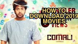 How to download 2019 movies in tamilrockers