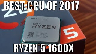 Ryzen 5 1600X Unboxing and Overview