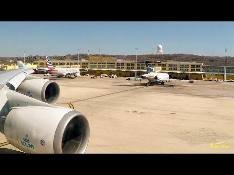 Flight  Curacao Amsterdam CUR - AMS (KLM747)