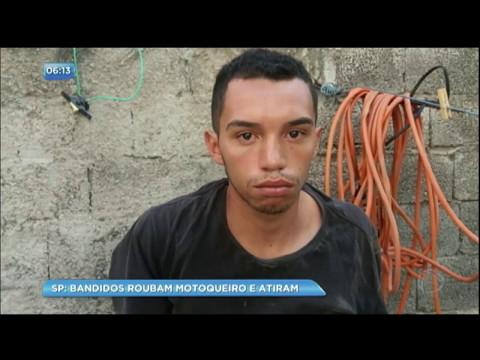 Bandido é preso após roubar motociclista na zona leste de São Paulo