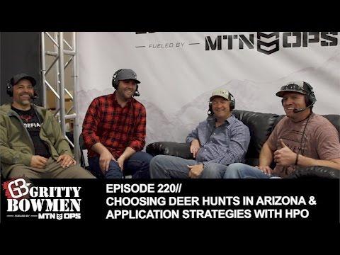 EPISODE 220: Choosing Deer Hunts in Arizona & Application Strategies with HPO