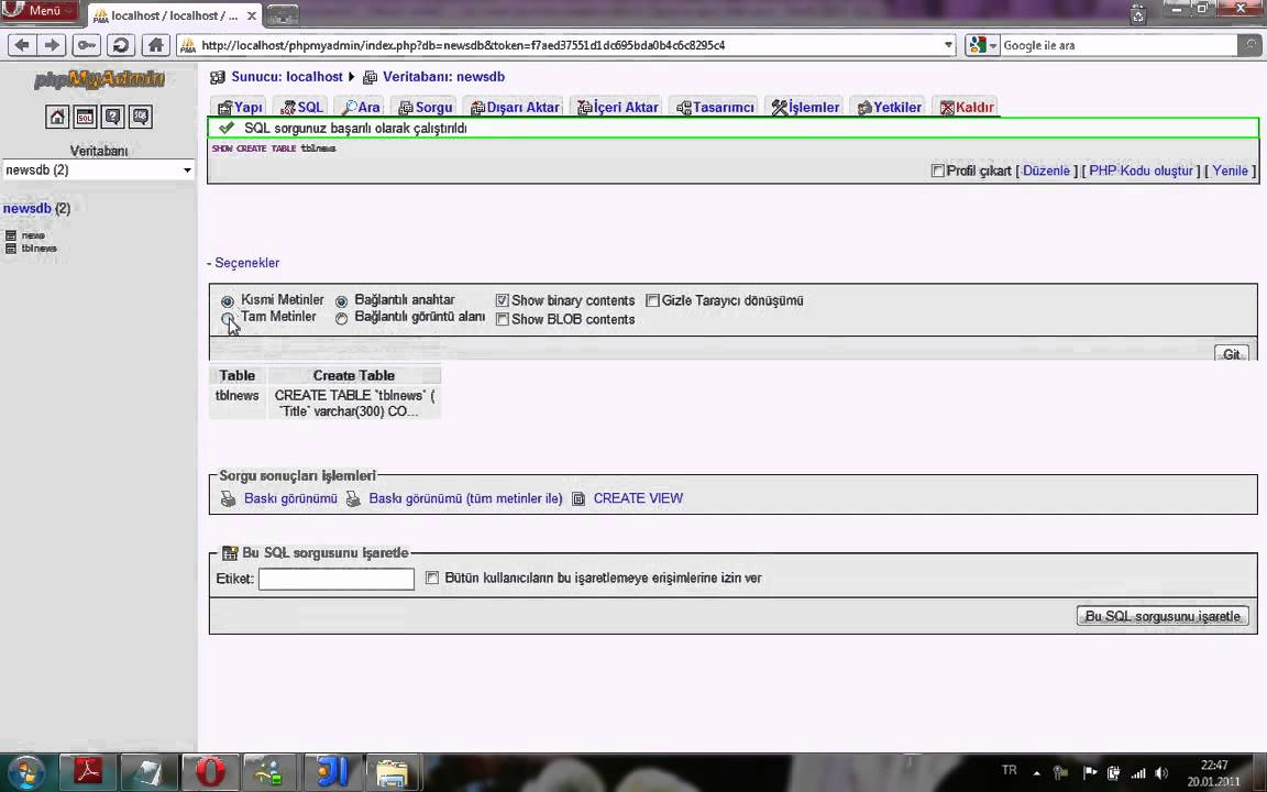 Show create table sql code in mysql youtube for Sql table design questionnaire