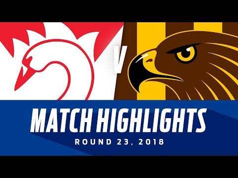 Sydney v Hawthorn Highlights | Round 23, 2018 | AFL