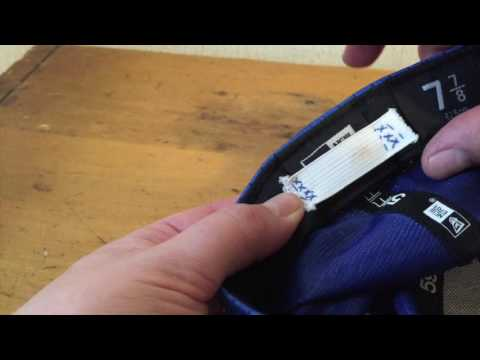 How to Downsize a Fitted Cap