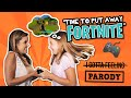 "watch he video of Time to put away FORTNITE?? Dad gets addicted // ""I Gotta Feeling"" Black Eyed Peas Parody"