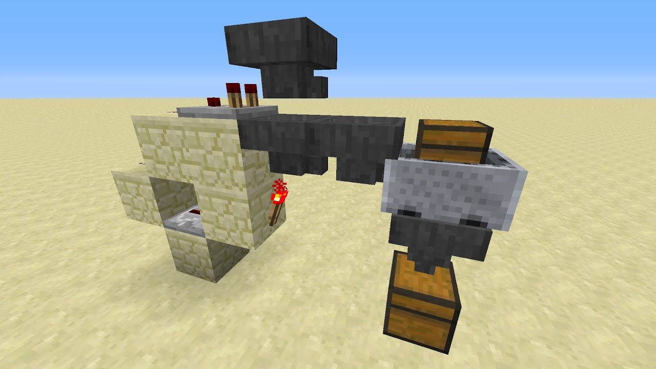 Best tile able sorting system in minecraft infinite for Portent item protection