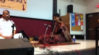 Ranjani Ramakrishnan on Sriranjani ragam - Spicmacay TAMU