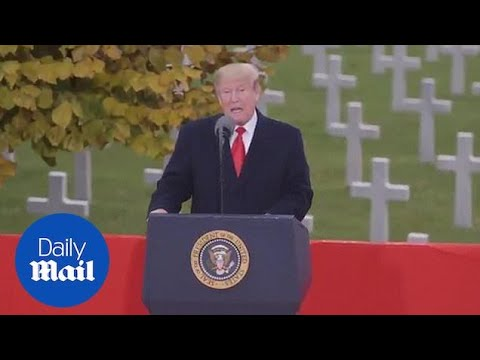 White House releases video praising US efforts during WW1