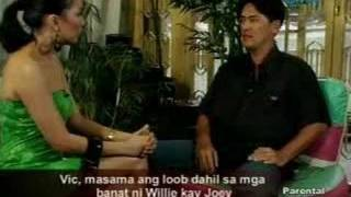 Vic Sotto reacts to Willie