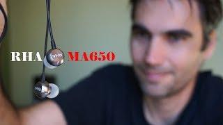 RHA MA650, auriculares para Hi-Res Audio   review en español