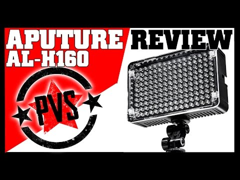 Aputure Amaran 160 LED Light - Perfectly Portable!