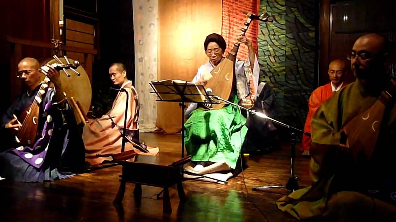 仏教琵琶音楽法要公演:荒神琵琶posted by Ibhazukage