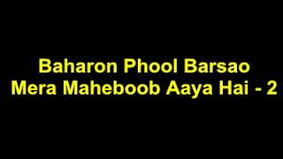 Baharon Phool Barsaao With Lyrics Sung By Jiten Shakya