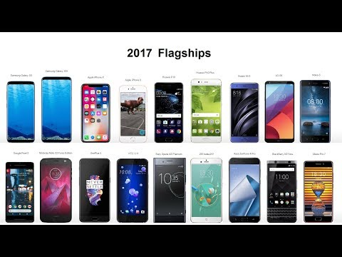 The Evolution of Mobile - Cellphone Flagships from 2010 up to 2017