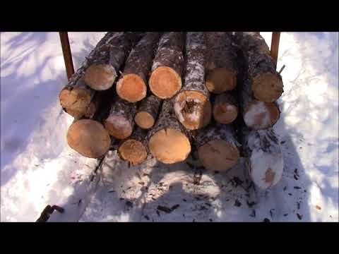 Our First Load Of Logs Did Not Go Well