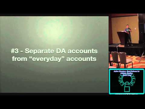 circlecitycon 220 active directory real defense for domain admins jason lang