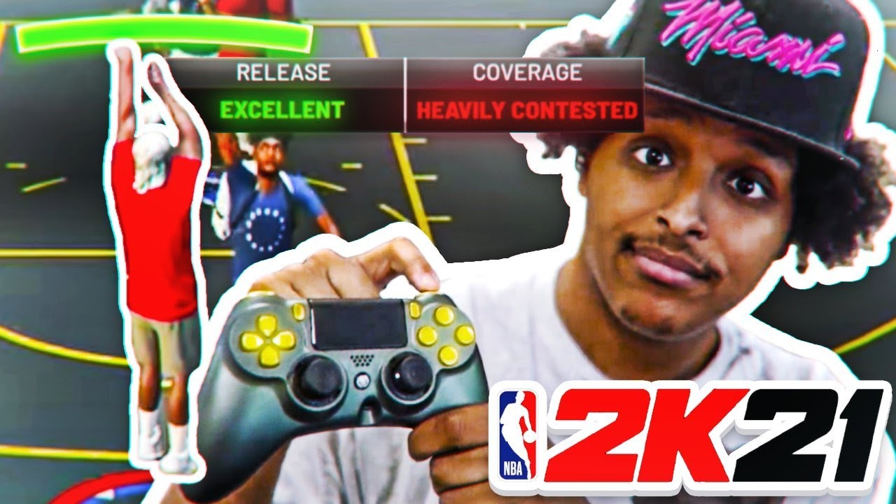 THIS MODDED CONTROLLER GUARANTEES PERFECT RELEASES ON NBA 2K21