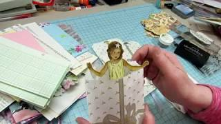 Craft With Me: Fabric Fairy Journals