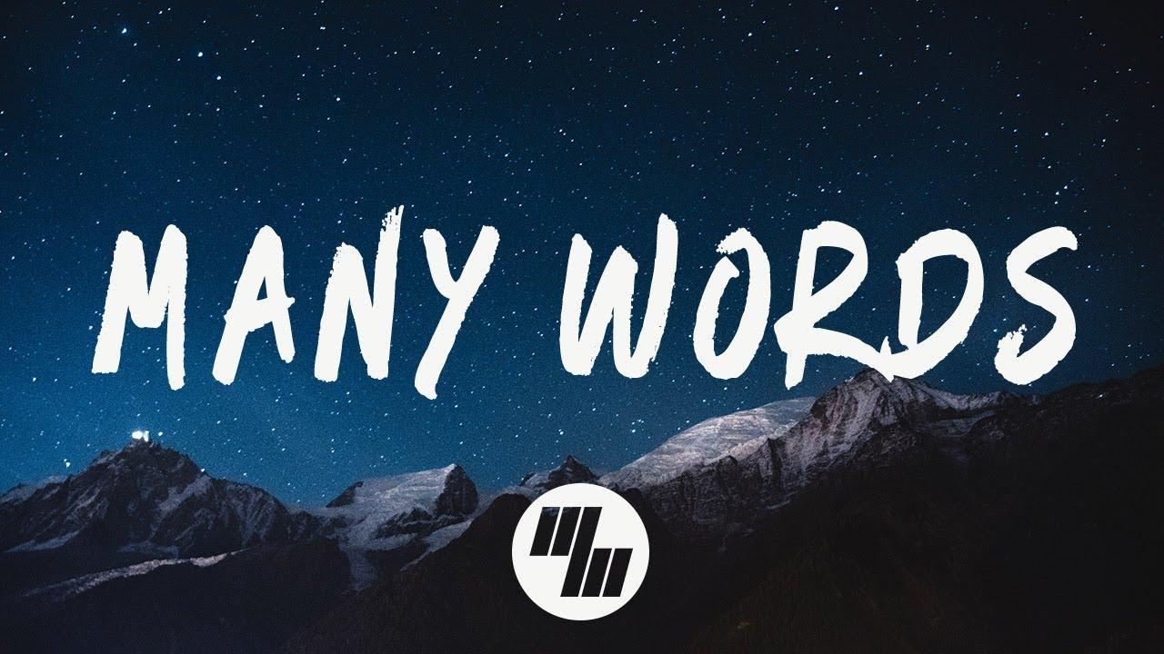 Download DROELOE - Many Words (Lyrics / Lyric Video)