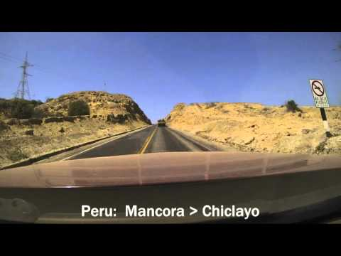 Ecuador - Peru Drive Timelapse: March 2016 Road Trip Driving Route Brinno
