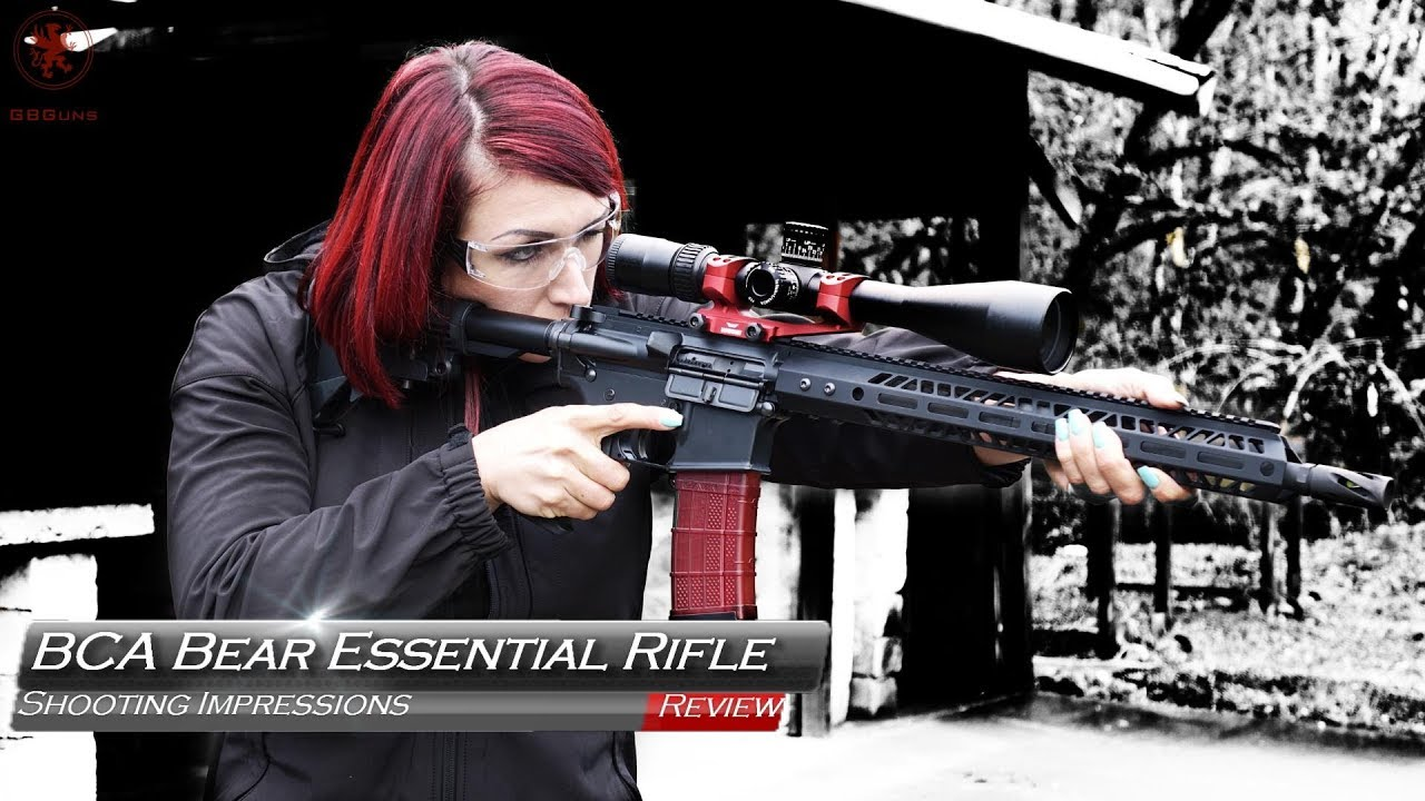 Bear Creek Arsenal Bear Essential Rifle Review ~ VIDEOS