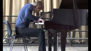 Beethoven piano sonata op.110 As-Dur — Kanstantsin Artsiom (1st mov)