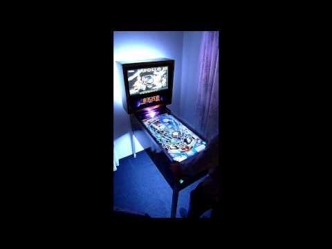 Virtueller Flipper - Virtual Pinball - Selbstbau - DIY - Selfmade Visual  Pinball Cabinet - Homemade