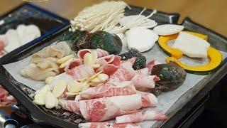 솜카롱 맛집로그) 전복전문점에서 전복삼합+전복갈비찜까지…