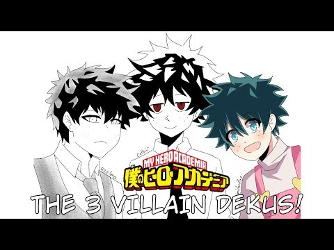 The 3 Villain Dekus! (My Hero Academia Comic Dub) - YouTube
