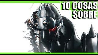 10 Cosas que no sabias sobre Fullmetal Alchemist