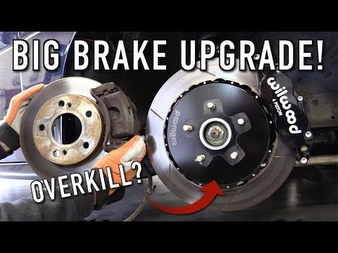 The 240SX Gets A Massive Big Brake Upgrade!