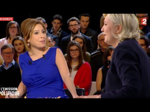 Le disque rayé de Léa Salamé face à Marine Le Pen
