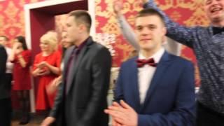 Самая красивая свадьба 2016! Сюрприз свидетельницы для молодых!!!