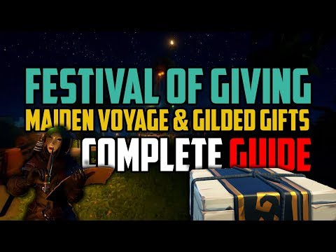 Sea Of Thieves: Festival Of Giving [FULL GUIDE]