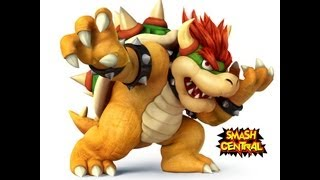 Bowser Moveset & Strategy Breakdown (Pre-Release) - Super Smash Bros. Wii U 3DS