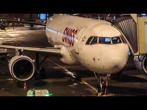TRIP REPORT - SWISS A319 - Amsterdam to Zürich - Economy class (4K)
