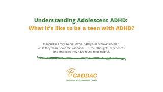 What it's like to be a teen with ADHD?