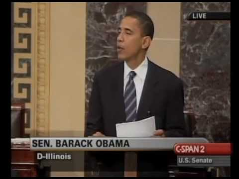 Senator Barack Obama on Senate Apology for failing to pass Anti-Lynching Legislation 2005