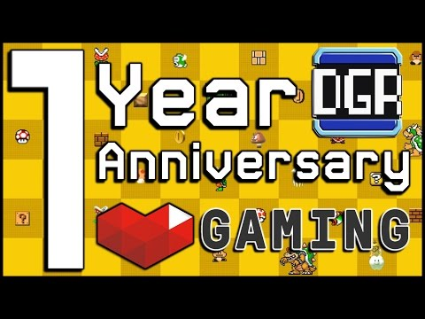 1 Year Anniversary on YouTube Gaming!!! T-Shirt Giveaway, Mario Maker & Who Knows What Else!